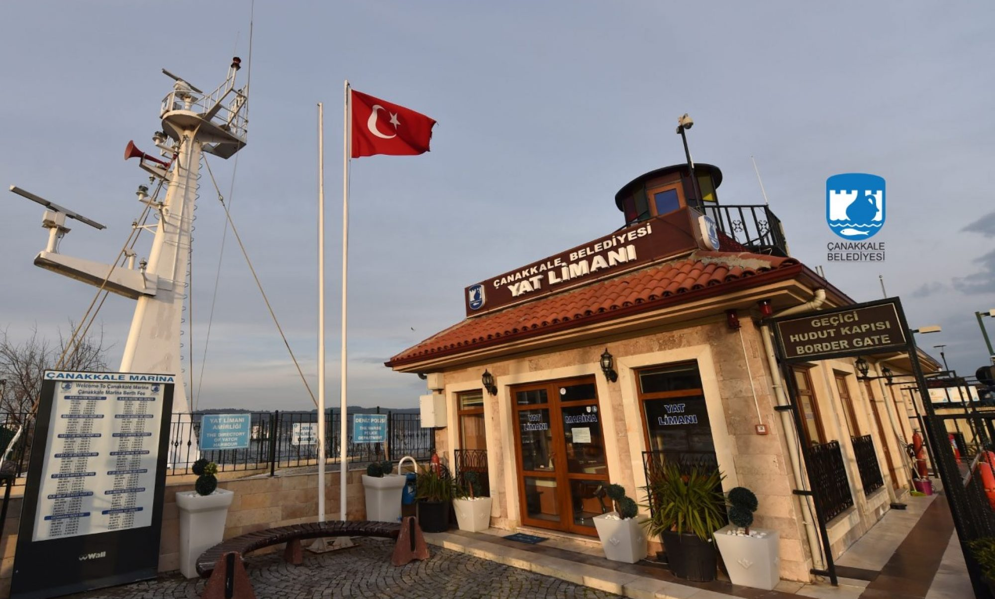 Çanakkale Belediyesi Yat Limanı